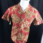 Hawaiian Rayon Hawaiian Casual Button-Down Shirts for Men
