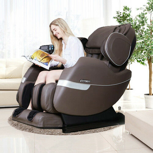 Enjoyable Details About Electric Full Body Shiatsu Massage Chair Recliner Straight Track 3Yr Warranty Caraccident5 Cool Chair Designs And Ideas Caraccident5Info