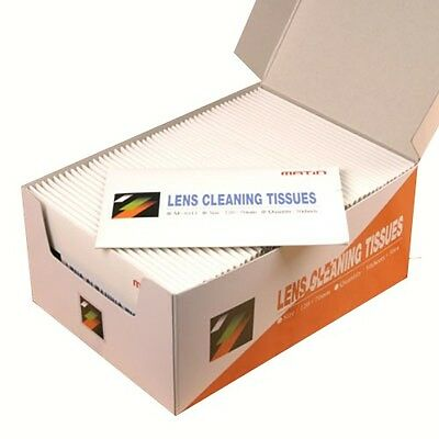 Matin 50 x 50 Sheets LENS CLEANER TISSUES Cleaning Paper for Nikon Canon Sony k