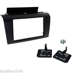 CT24MZ07-MAZDA-3-2004-to-2009-1ST-GENERATION-BLACK-DOUBLE-DIN-FASCIA-ADAPTER-KIT