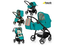 Brand new no box Hauck Lacrosse 3 in 1 parent world facing travel system pram pushchair car seat