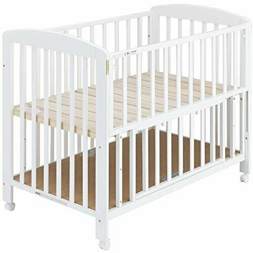 release date: a6d57 ef38f White Wooden Baby Cot Bed with Mattress | in Wimbledon, London | Gumtree