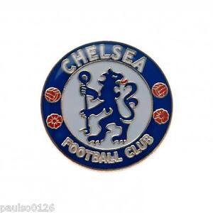 Chelsea FC Enamel Crest Pin Badge Brand New