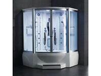 Brand New Luxury Ariel Steam Shower with Whirlpool Bath WS 600A RRP £3,500