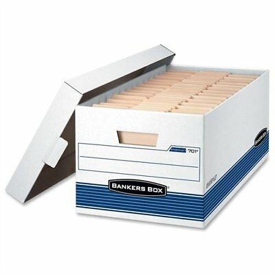 Bankers Box Storfile - Legal Lift-off Lid 4pk - 700 Lb - Stackable - 0070205