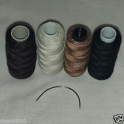 Hair Needle - 1 Hair Weave Sewing Needle & Hair Weaving Sewing Thread Hair Weft Hair Extention