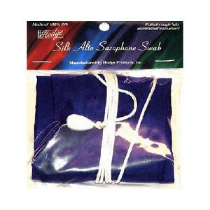 Hodge ASP Silk Alto Saxophone Swab - Purple