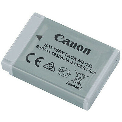 Canon NB-13L Lithium-Ion Battery Pack (3.6V, 1250mAh) - Canon Authorized Dealer