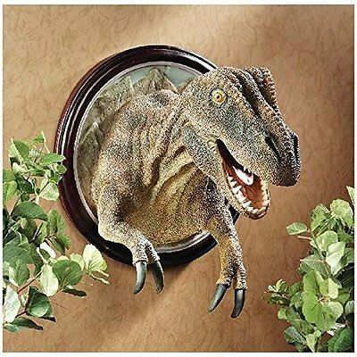 CL4891 T-Rex Dinosaur Trophy Wall Sculpture