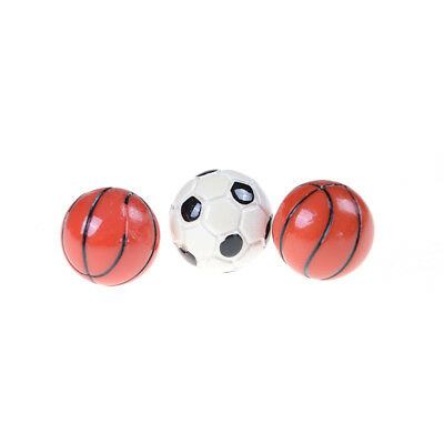 Miniatur Sportbälle Fußball Fußball und Basketball Dekor Du (Basketball-dekor)