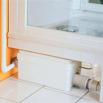 BATHROOM BASIN SINK & BATH MACERATOR SANITARY WASTE WATER REMOVAL PUMP SP250