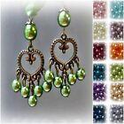 Leverback Chandelier Fashion Earrings