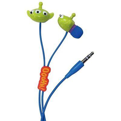Gourmandise Toy Story Alien Character Earphone Blue DN-147BL Japan