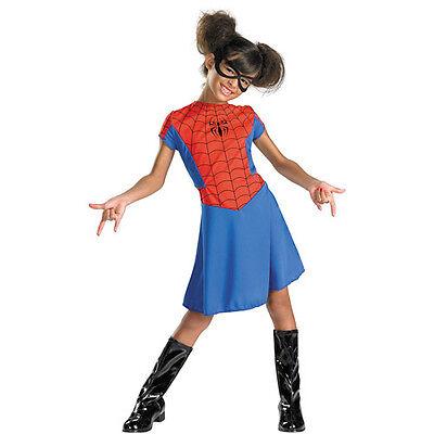 Spider-Girl Kinder Klassisch Kostüm Größe 7-8 Nwt