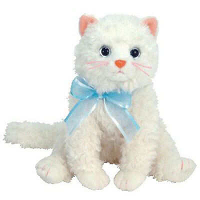 TY Beanie Baby - MUFF the Cat (6 inch) - MWMT's Stuffed Animal Toy