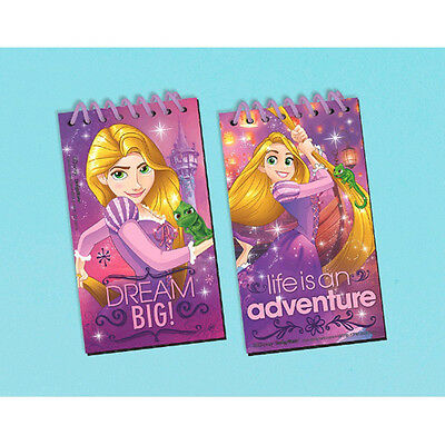 Tangled Birthday Party Supplies (TANGLED Dream Big BLACK PAPER SKETCH PADS (12) ~ Birthday Party Supplies)