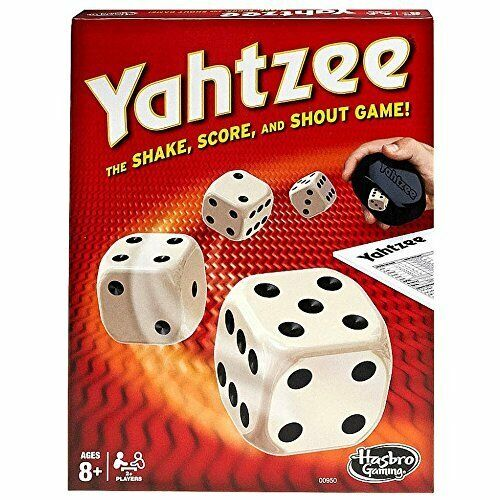 Yahtzee™ Dice Game By Hasbro, New, FREE SHIPPING AND RETURNS