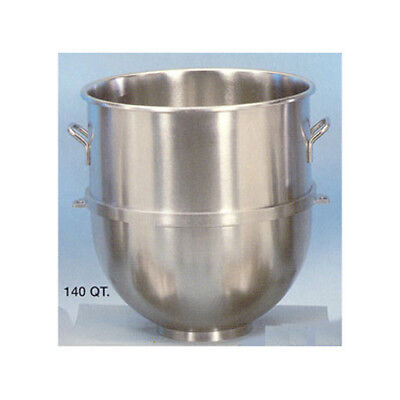 Stainless-steel Mixer Bowl 140 Quart - For Hobart 140qt. Mixer