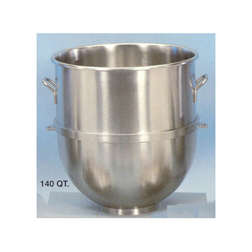 Stainless-Steel Mixer Bowl, 140 quart -  for Hobart 140qt. Mixer