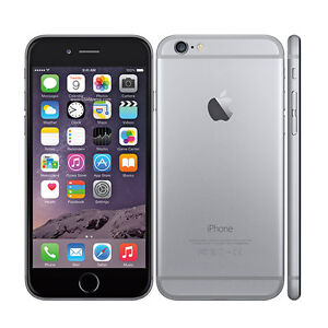 Unlocked Space Grey iPhone 6 - 128 GB Brand New