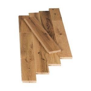 Plancher de bois franc préfini 3 1/4 po Chêne rustique