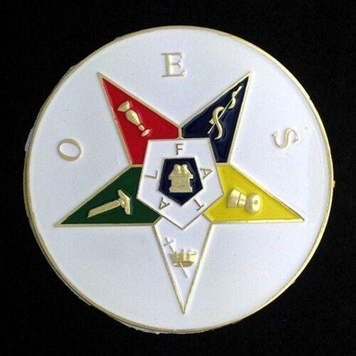 Masonic Eastern Star Car Auto Emblem (ESA-1)