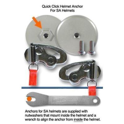 Hans AK1142.2 Quick Click Anchors For SA Helmets