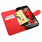 Leather Wallet Case for Samsung Galaxy S II