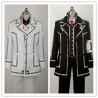 Vampire Knight uniform Cosplay Costume dress Kiryuu Zero DAY CLASS/ NIGHT CLASS (Zero Vampire Knight Kostüm)