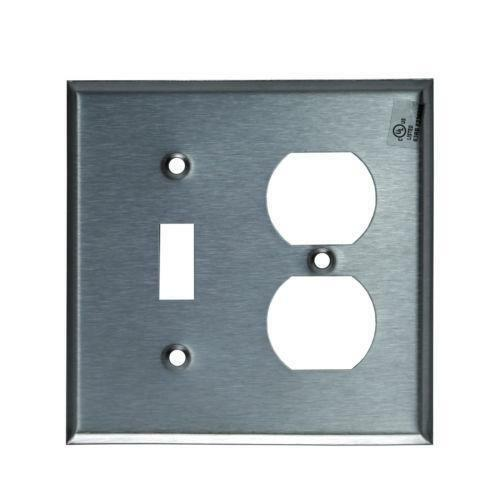 Stainless steel outlet cover ebay