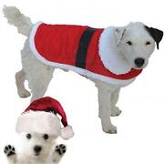 Dog Santa Costume