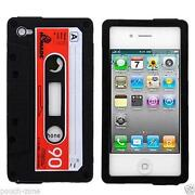 iPhone 4 Case Silicone Retro