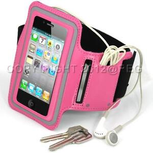 PREMIUM PINK SPORT WORKOUT GYM ARMBAND CASE COVER FOR IPOD TOUCH 2ND 3RD 4TH GEN