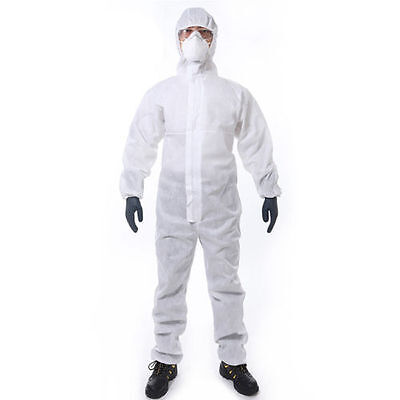 New Diy Disposable Paper Suit Protective Overall Coverall Work Clothes