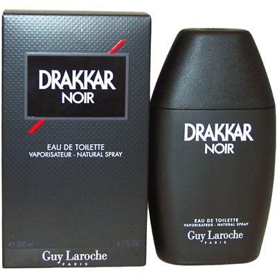 Drakkar Noir by Guy Laroche 6.7 / 6.8 oz EDT Cologne for Men New In Box
