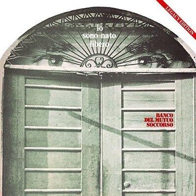 Banco Del Mutuo Socc   Io Sono Nato Libero 1973 2017  New Vinyl Lp  With Cd