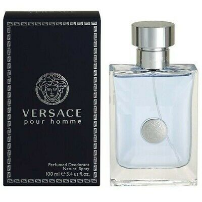 Versace PourHomme EDT 3.4oz 100% Authentic Brand New in Box