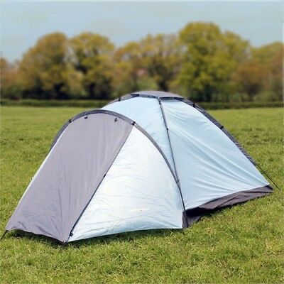 NORTH GEAR CAMPING MONO 3 MAN WATERPROOF DOME TENT