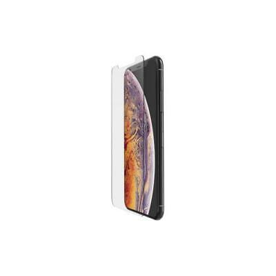 Belkin ScreenForce Tempered Glass Crystal Screen Protector For LCD IPhone XS Max Belkin Lcd Screen Protector