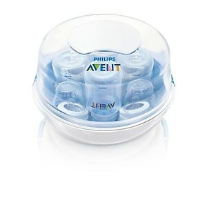 Philips AVENT Microwave Steam Baby Bottle Sterilizer BRAND NEW