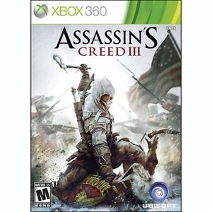 Assassin's Creed III (XBOX 360) - NEW (SEALED)