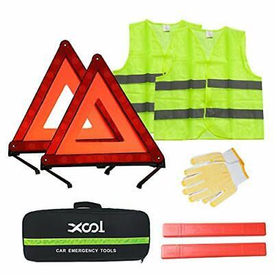 Large HEAVY DUTY Warning Triangle Road Breakdown Safety Hazard STURDY LEGS