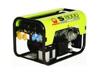 Pramac S8000 7kva Honda 13hp Long Run 230v / 115v Electric Start Petrol Generator