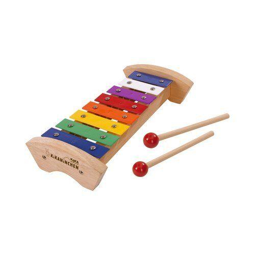 EICHHORN Holz-Xylophon Kikaninchen Musik-Spielzeug NEU natur
