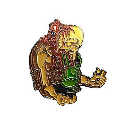 Zombie Pin Horror Monster Stoner Enamel Hat Pin