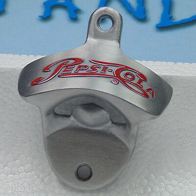 Pepsi Metal Polished beer Wall Mounted Bottle opener wall mount beer openers