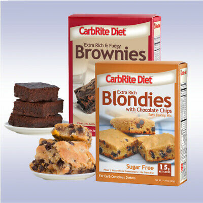 DOCTOR'S CARB RITE DIET BROWNIES / BLONDIES MIX (11.5 OZ) chocolate sugar free ()