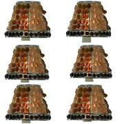 Amber Glass Lamp Shades