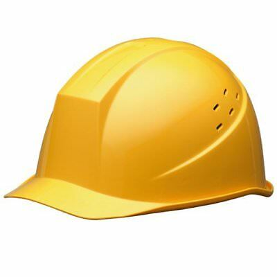 Midori Anzen Safety Hard Hat for Construction Helmet Yellow from Japan