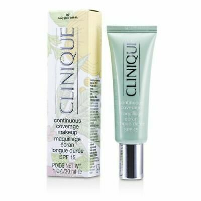 Clinique Continuous Coverage Makeup SPF15 - 07 Ivory Glow - 30ml